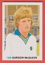 Leeds United Gordon McQueen Scotland